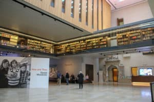 Weston Library is a modern twist during an Oxford Day Trip