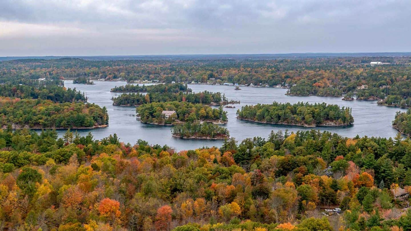 Thousand Islands is one of the best national parks in Canada