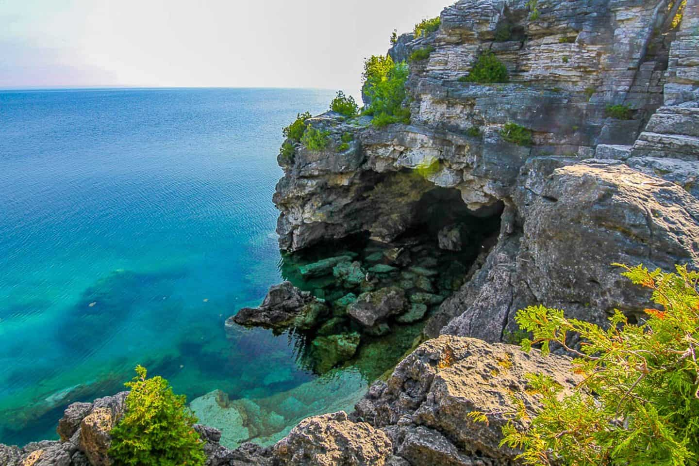 Bruce Peninsula National Park is one of the best national parks in Canada
