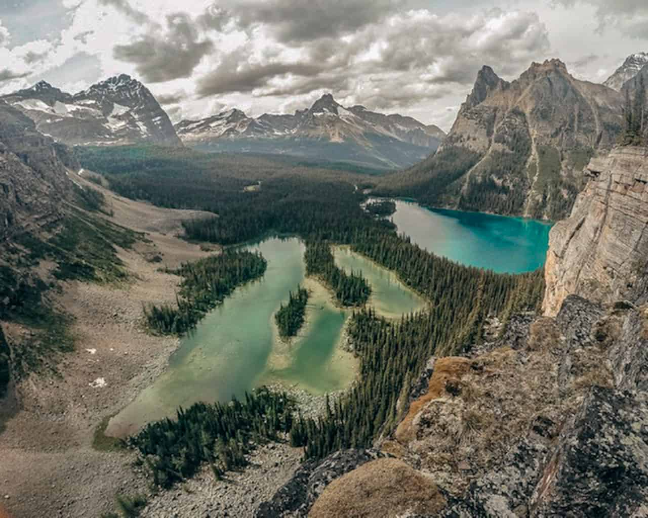 Yoho National Park is one of the best national parks in Canada