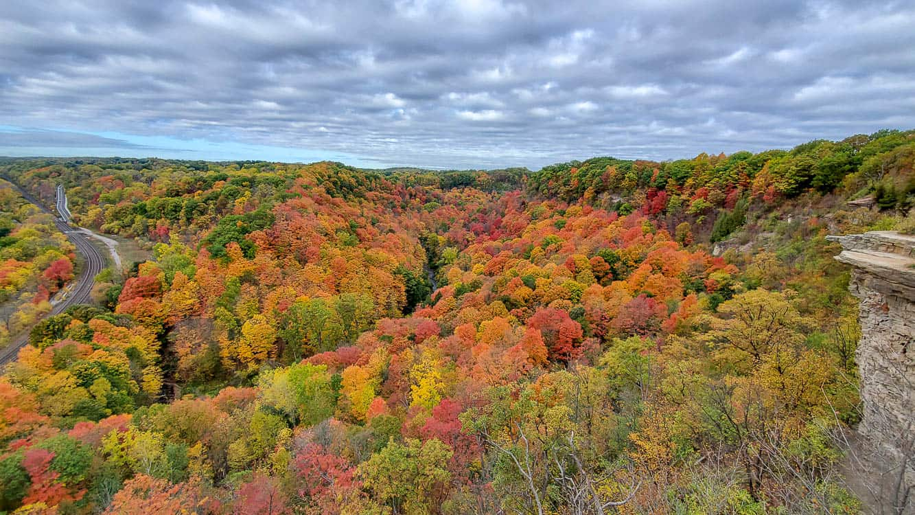 The View from Dundas Peak